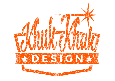 Khuk Khak Design Vintage Logo