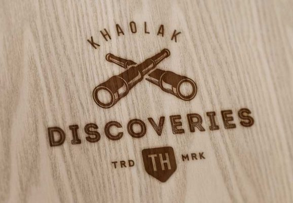 Khao Lak Discoveries retro logo